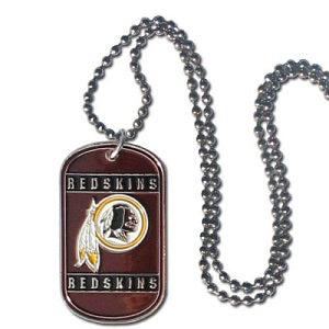 Washington Redskins --- Neck Tag Necklace