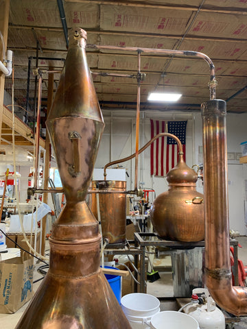 The Colonel and Chester Copperpot at 505 Spirits