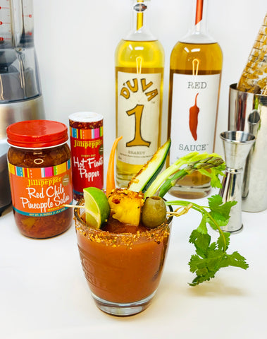 Red Chile Pina Maria Cocktail