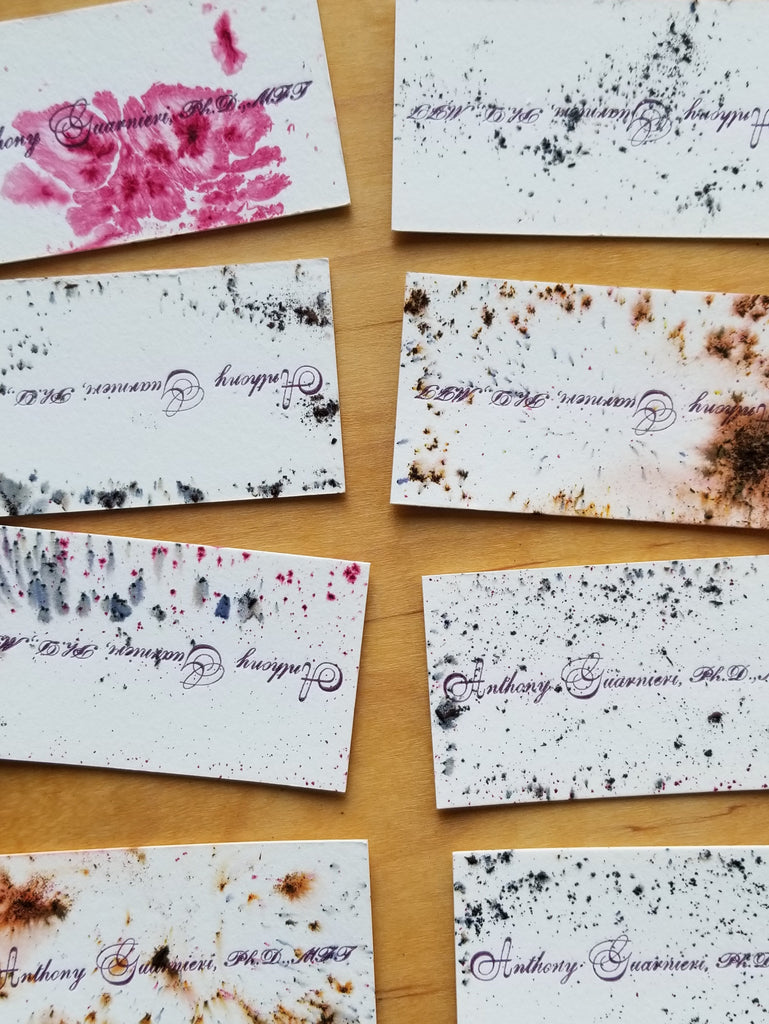 Pigments & Printing Workshop, May 19, 2019