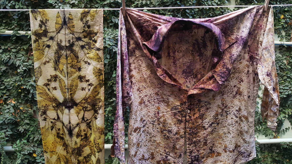 Winter Eco-Printing and Bundle Dyeing Workshop, Sunday December 16th