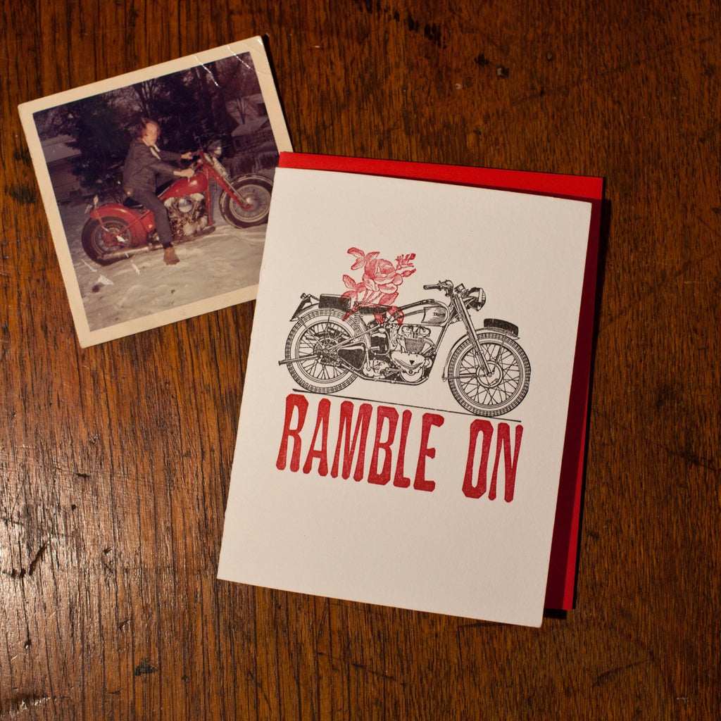 Ramblin' Rose Card