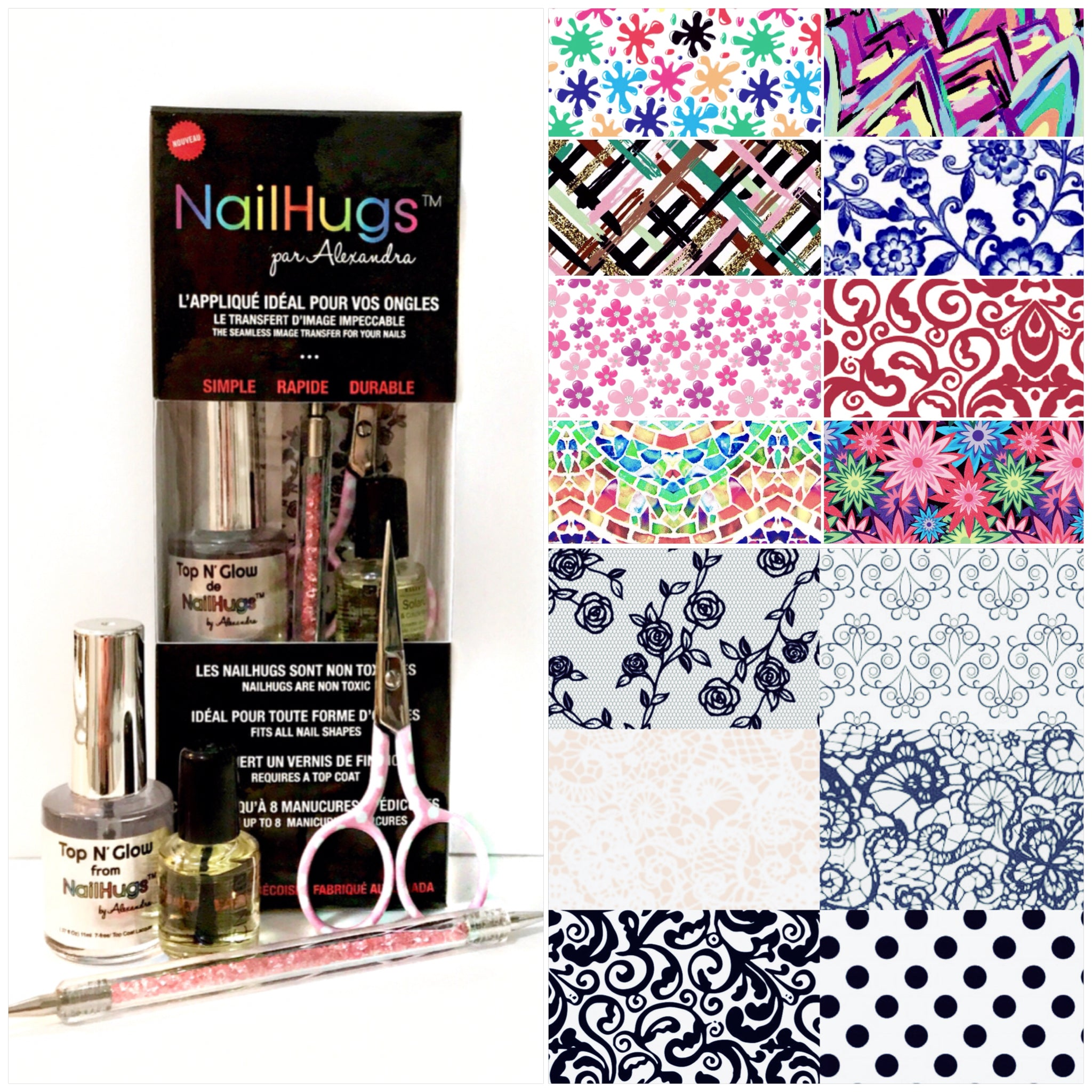 NailHugs designer kit
