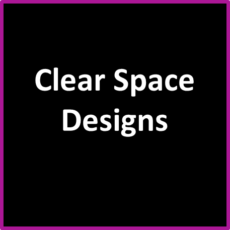 BULK OFFER: Clear Space Designs