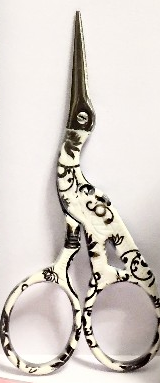 3.5 inch Decorated Silk Scissors