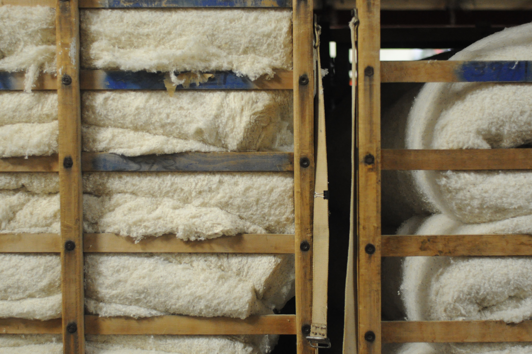 Natural Felt: Making Our Pillows