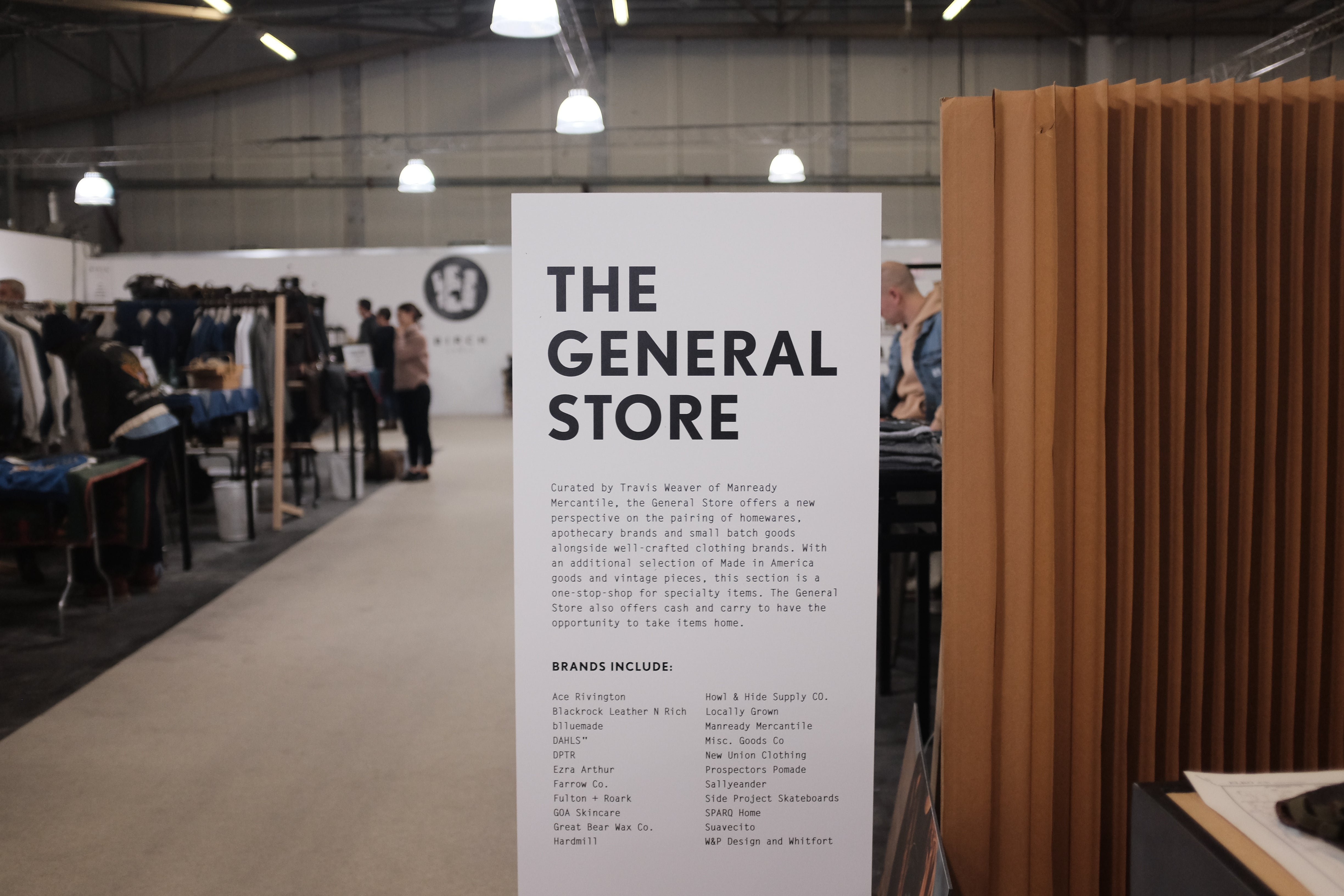 2810db3f2 ... new brands specializing in small batch goods. Everyone was welcoming  and proud to present their work. We would love to join and be a part of it  one day.