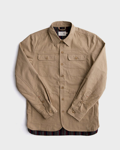 Bridge & Burn x Kiriko: Kannon Jacket, Khaki