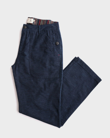 Bridge & Burn x Kiriko: Maru Pants, Indigo