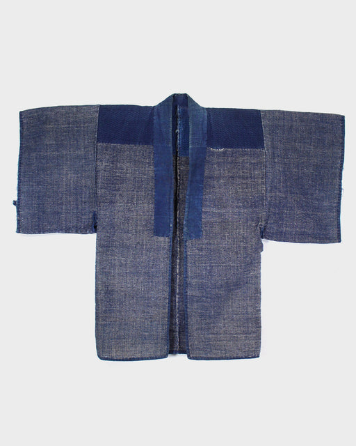 Vintage Haori Jacket, Indigo with Sashiko Stitching