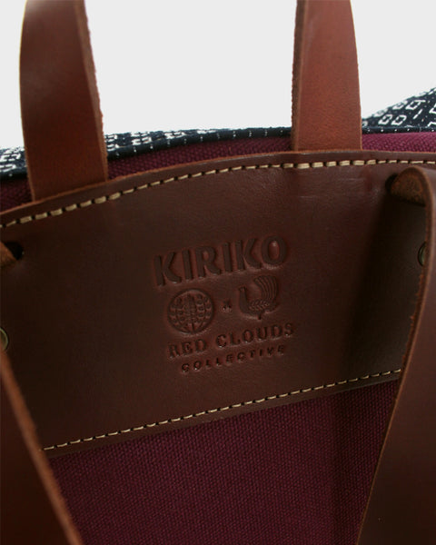 Kiriko X Red Clouds Collective, Burgundy Backpack