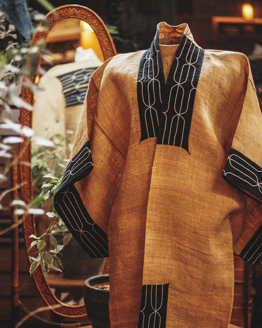 Ainu Traditional Hemp Robe