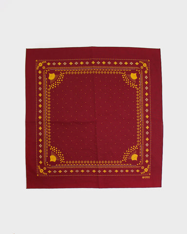 Bandana Harvest Red and Yellow
