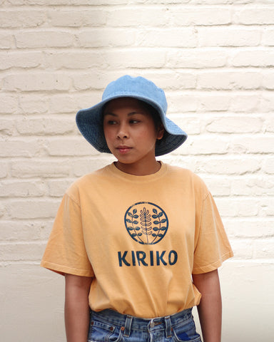 Printed Logo Tee, Yellow