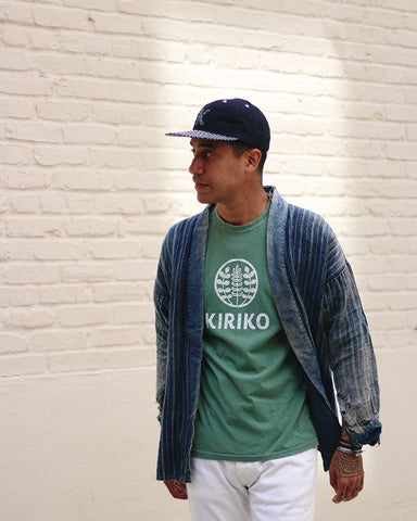 Printed Logo Tee, Green
