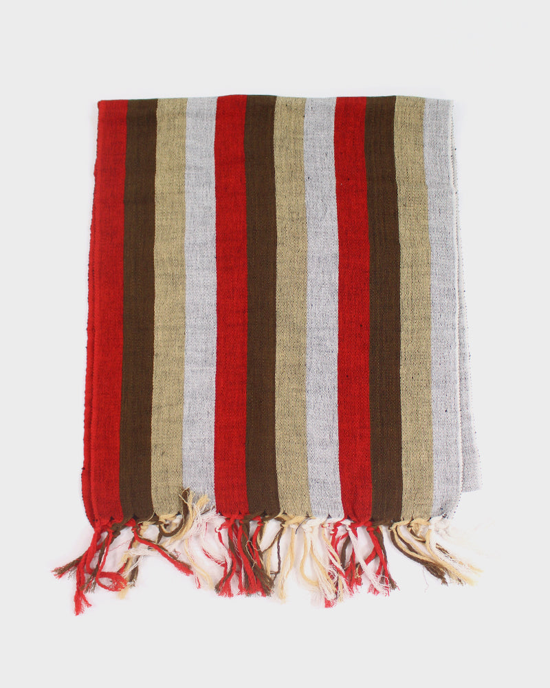 Karu-Ori Red Brown Stripes