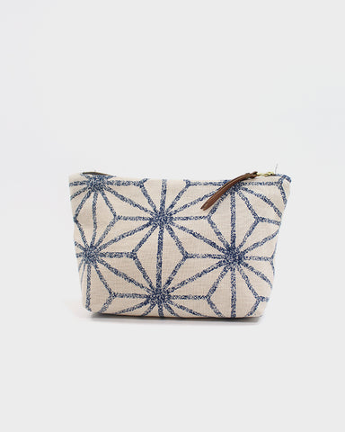 Stand-up Pouch, Natural Large Asanoha