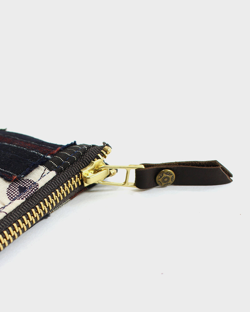 Zipper Wallet, Boro Patchwork 30