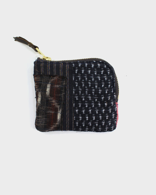 Zipper Wallet, Boro Patchwork 32