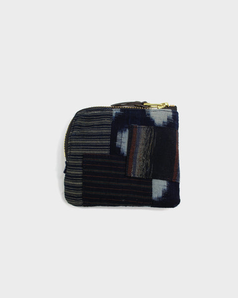 Zipper Wallet, Boro Patchwork 27