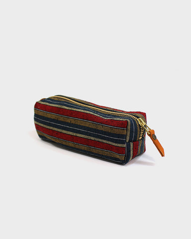 Pencil Pouch, Red Shima