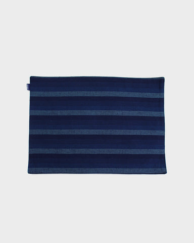 Table Mat Set of 4, Indigo Shima