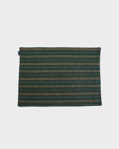 Table Mat Set of 4, Green Shima
