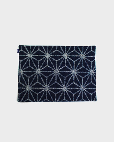 Table Mat Indigo Asanoha