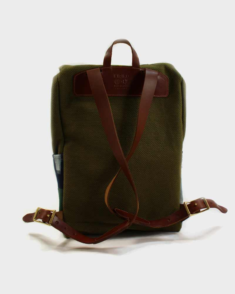 Kiriko X Red Clouds Collective, Sashi-Ori Miru-Iro Boro Backpack 02