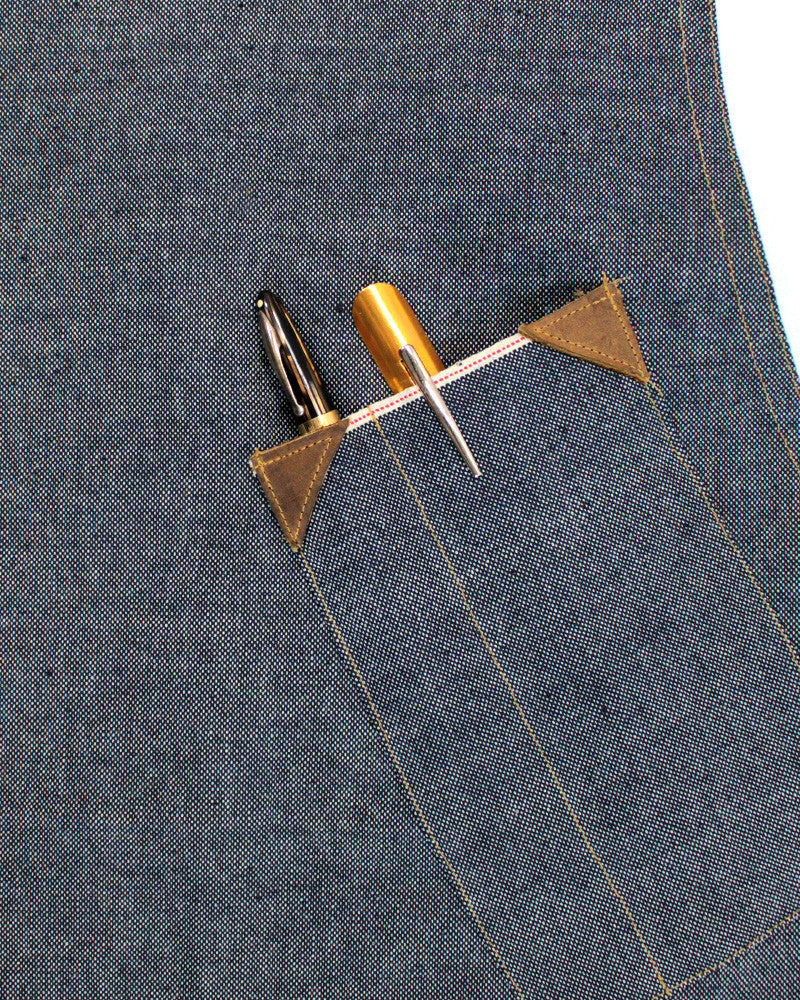 Japanese Selvedge Denim Work Apron