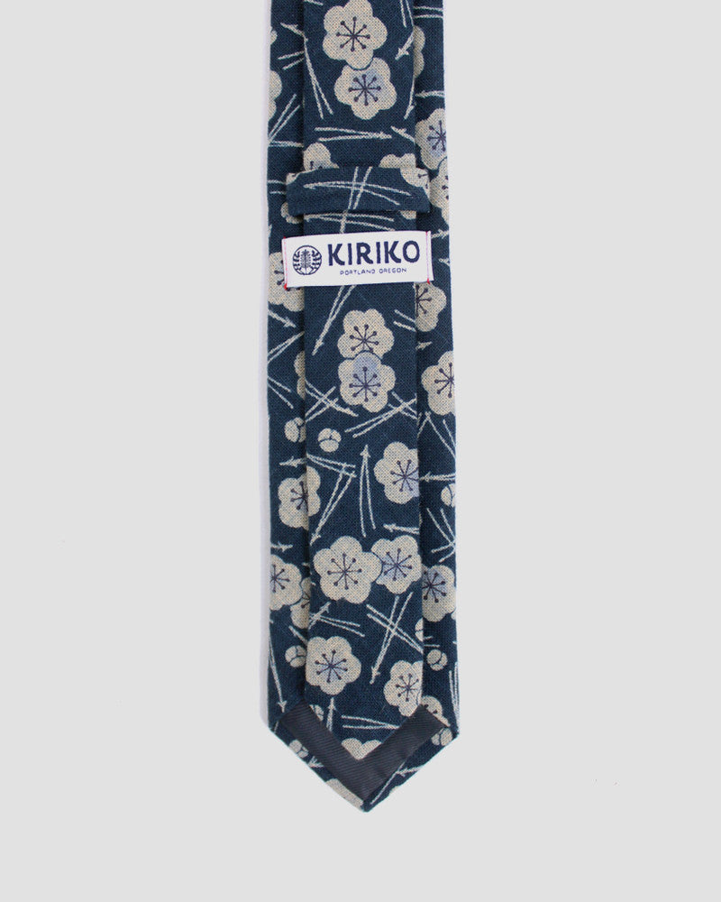 Tie Indigo Plum and Pine