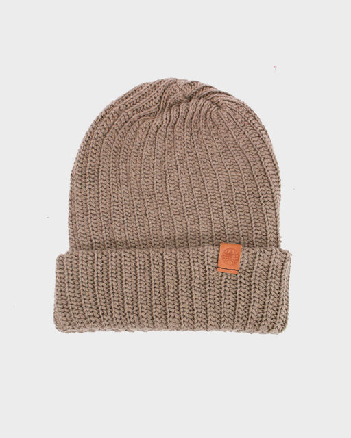 Knit Cap Light Brown