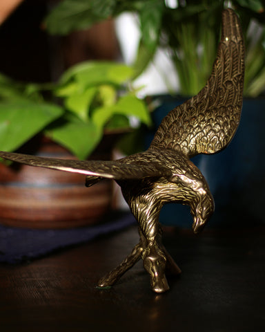 Vintage Eagle Brass Decor, 01