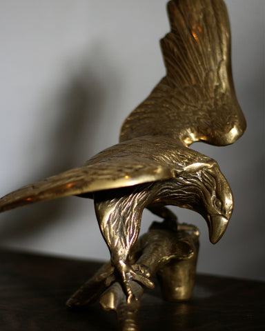 Vintage Eagle Brass Decor, 02