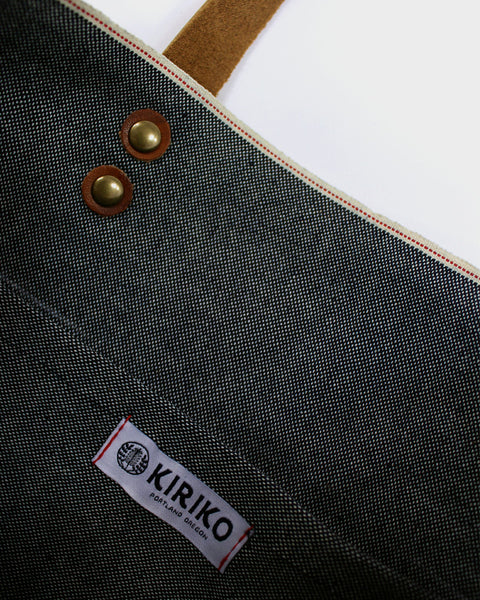 Kiriko Small Denim Tote, Chambray