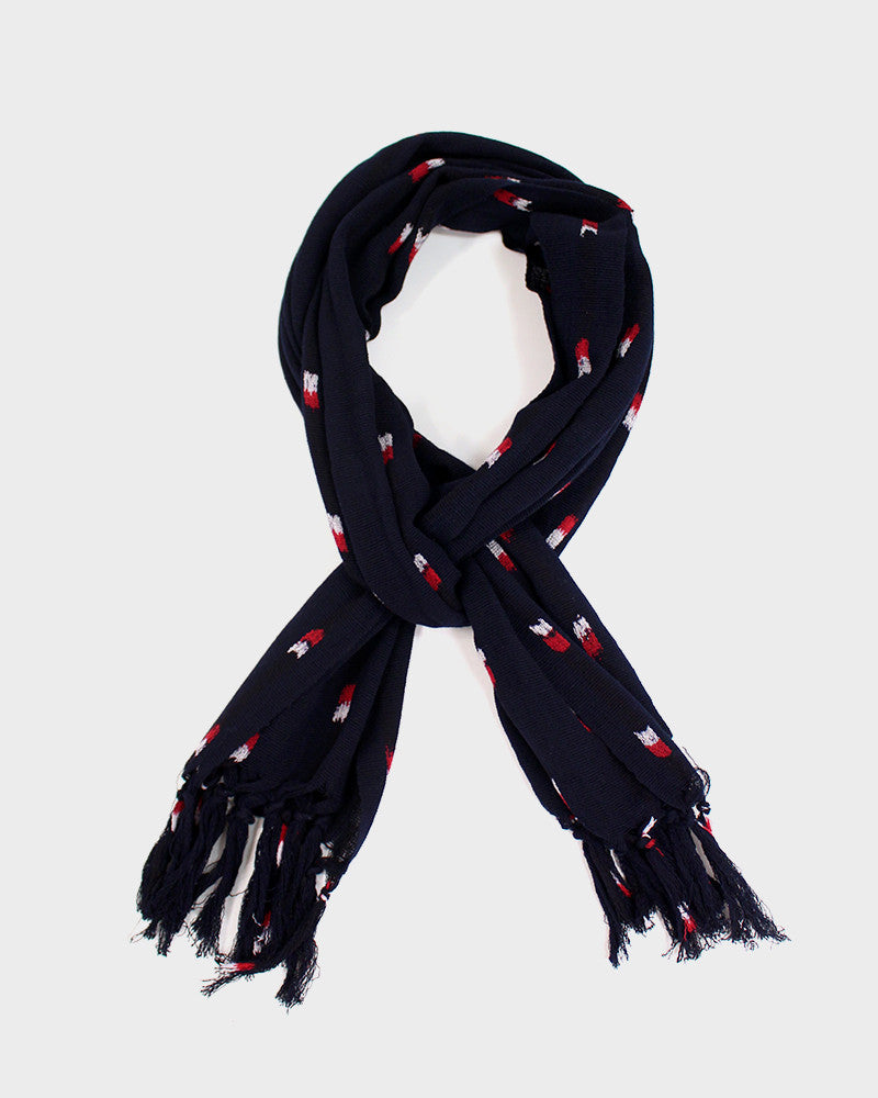 Karu-Ori Navy Blue with Red and White Large Dash