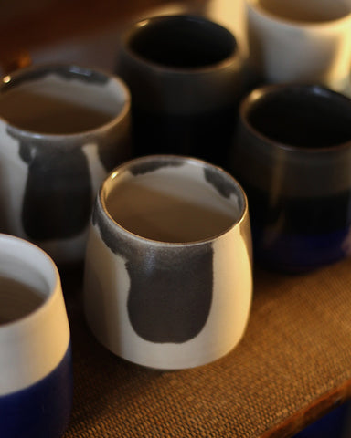 Kelly Pottery, Hand-painted Yunomi