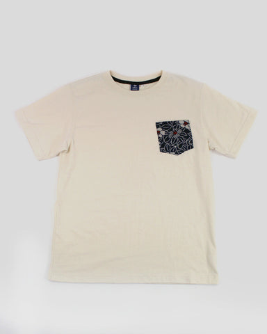 9oz Pocket Tee, Cream