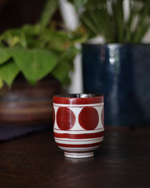 Arita-Yaki Double Sided Tea Cup