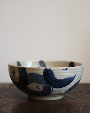 Mashiko-Yaki Hand Painted Bowl