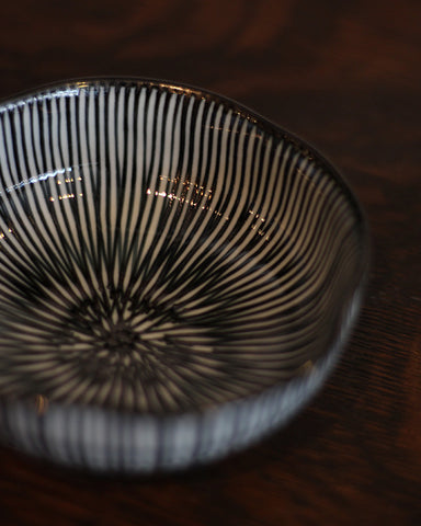 Hasami-Yaki Shaped Large Bowl