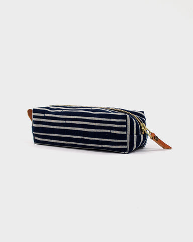Pencil Pouch, Bamboo Stripes