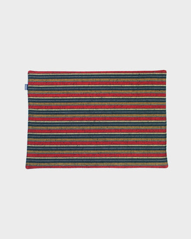 TABLE MAT SET OF 4, Woven Stripe 01