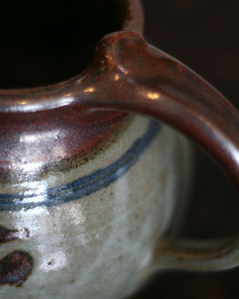 Vintage Abstract Pitcher