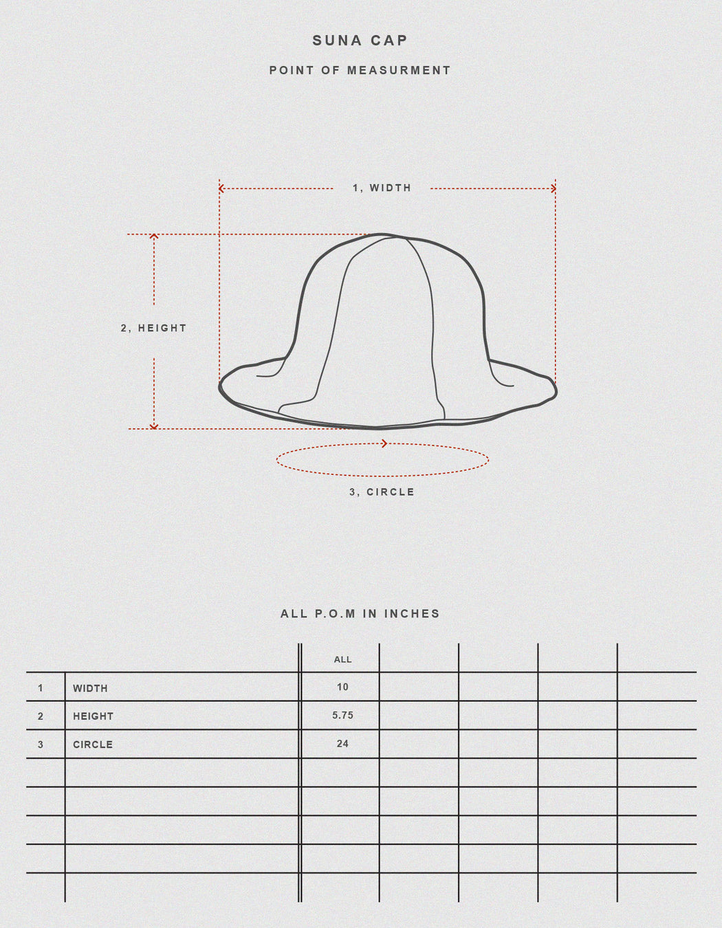 Prospective Flow, Suna Hat Black