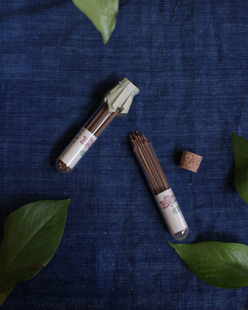 YOU YOU ANG, Natural Essential Oil Incense, Lotus