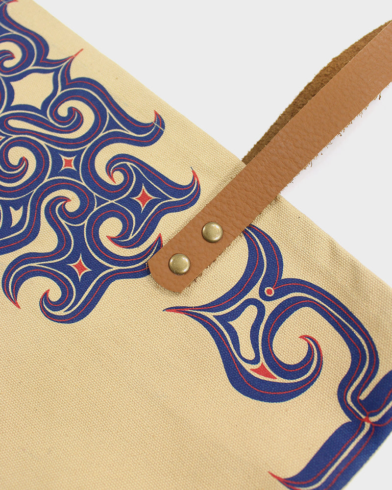 Ainu Canvas Tote, Natural