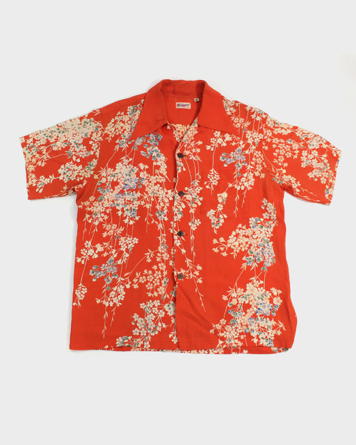 Sun Surf, Aloha Shirt, Floral Vines