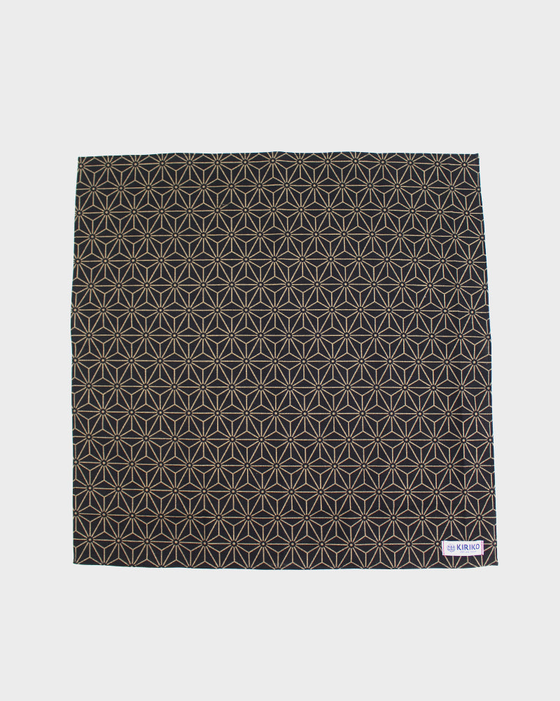 Bandana Black and Tan Asanoha