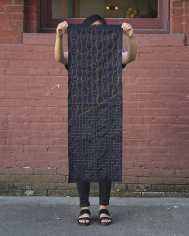 Sashiko Table Runner